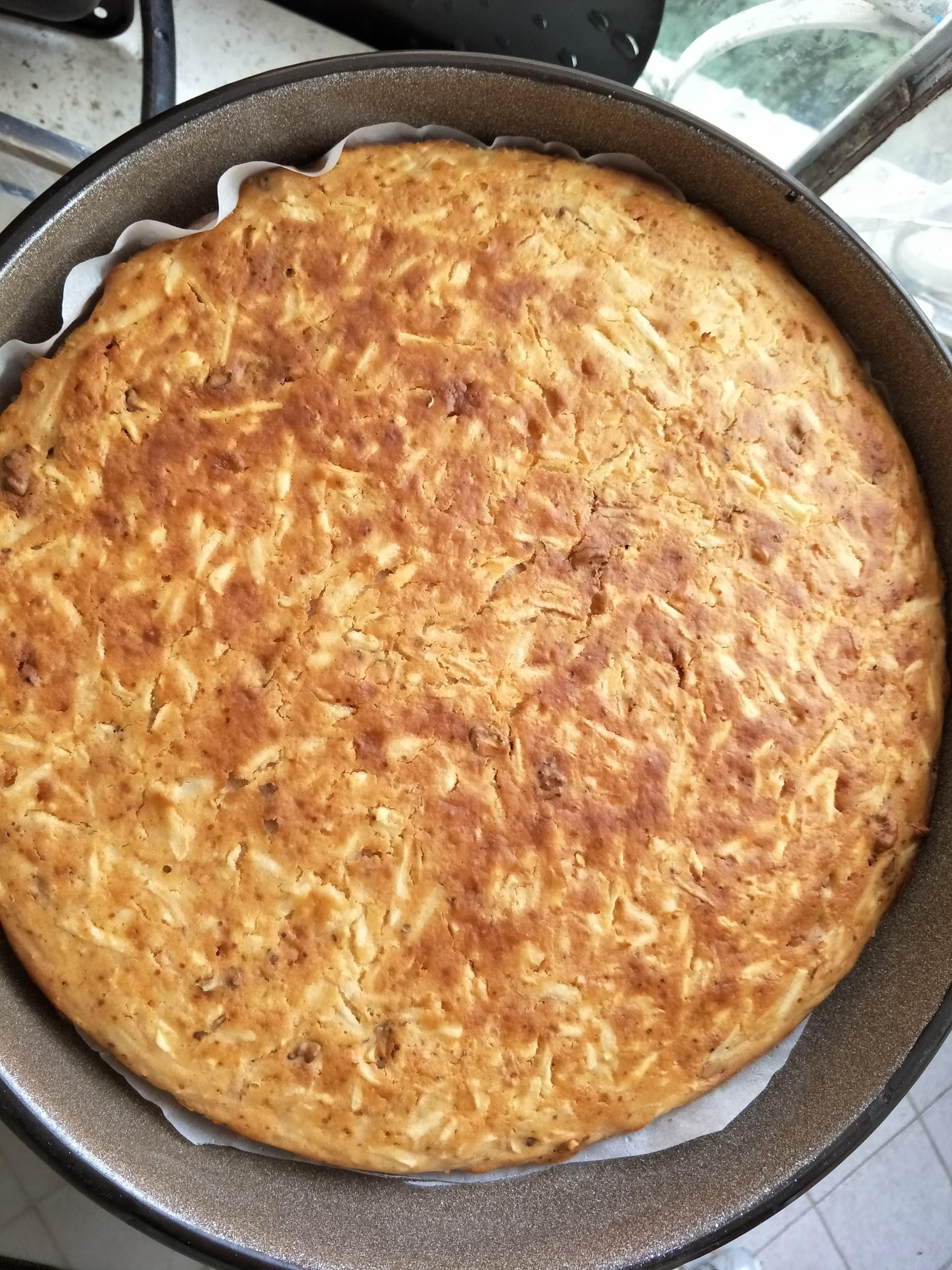 домашен кекс с дюли и стевия