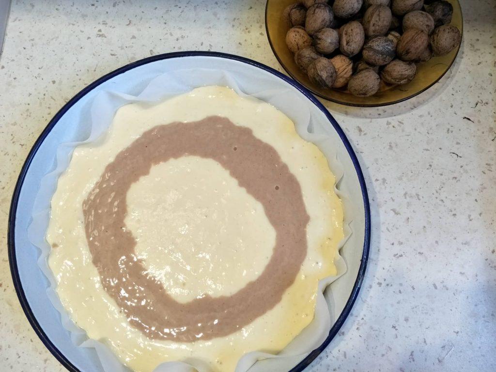 Лесен домашен кекс със стевия