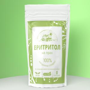 Еритритол на прах- кето мус с еритритол и стевия