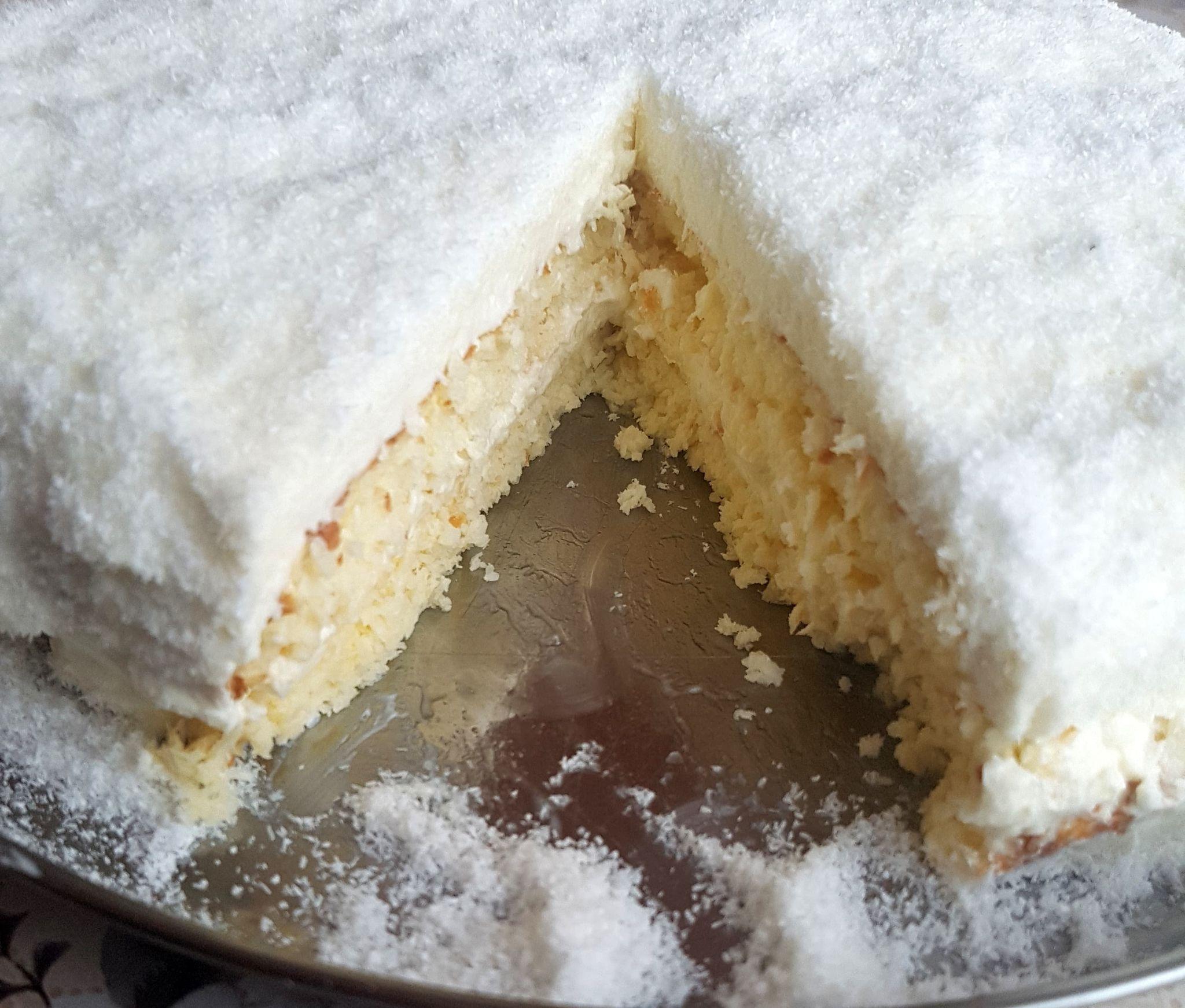 кокосова торта със стевия и еритритол